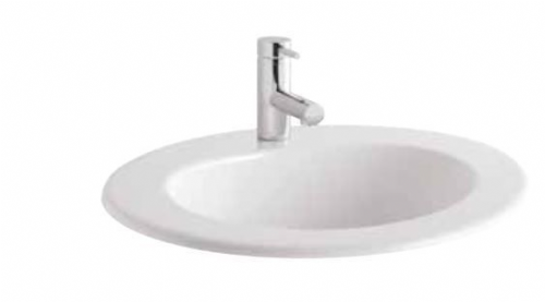 Eastbrook Inset Vanity Basin 490 x 410mm 2 Tap Holes